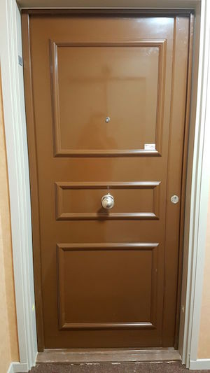Blindage de porte porte blind e - Installer une porte blindee ...