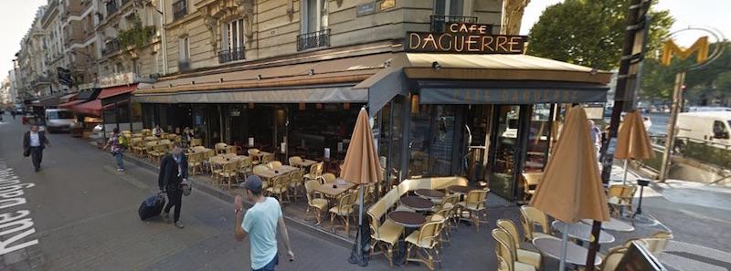 vue sur le début de la rue Daguerrre