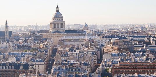 vue des toits de Paris 6